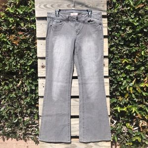 Candie's grey flare jeans